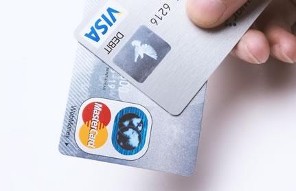 VISAカードとMASTERカードの画像